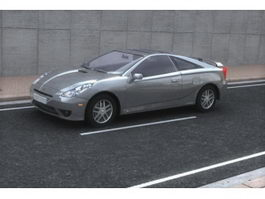 Toyota Celica sports car 3d preview