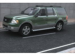 Ford Expedition 5-door SUV 3d model preview