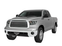 Toyota Tundra pickup truck 3d preview