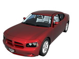 Dodge Charger sedan 3d preview