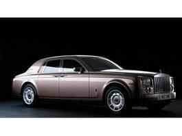 Rolls-Royce Ghost luxury saloon 3d model preview