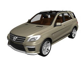 Mercedes-Benz ML63 AMG SUV 3d preview