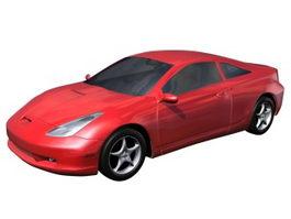 Toyota Celica sports car 3d preview