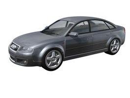 Audi C6 RS 6 saloon 3d model preview