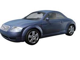 Audi TT 2-door roadster 3d preview
