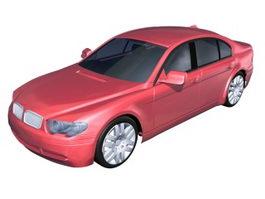 BMW 7 series sedan 3d preview