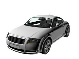 Audi TT two-seater roadster 3d preview