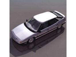 Citroen XM hatchback 3d preview