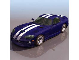 Chrysler Viper 2-door roadster 3d preview