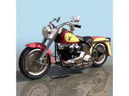 Harley-Davidson FXDF Fat Bob motorcycle 3d preview