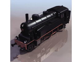 Early light locomotive 3d preview
