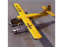 DHC-3 Otter STOL transport aircraft 3d preview