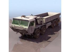 U.S. Army HEMTT truck 3d preview