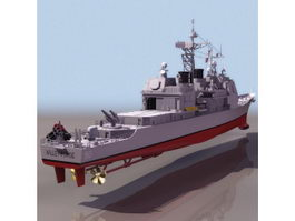 USS Valley Forge ticonderoga-class cruiser 3d preview