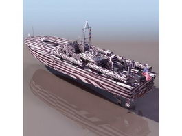 US Navy motor torpedo boat 3d preview