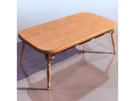 Windsor coffee table 3d preview