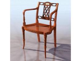 Sheraton elbow chair 3d preview