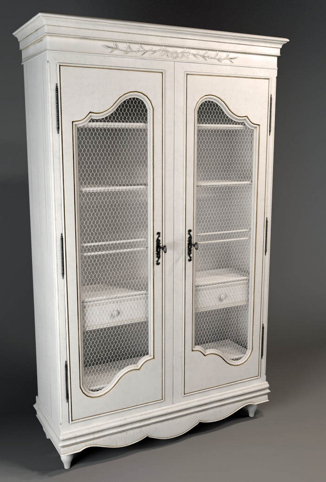 Office armoire traditional dressers chests 3d rendering