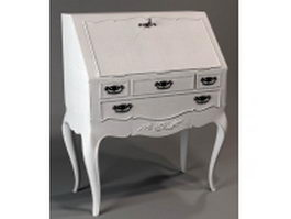 Classical console table 3d preview
