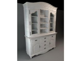 Classic cupboard cabinet 3d preview