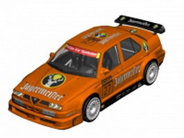 Alfa Romeo 155 V6 TI racing car 3d preview