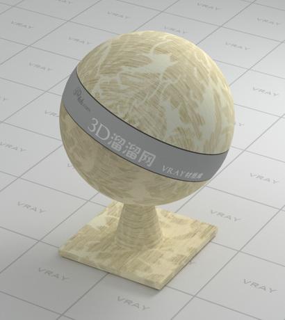 Beige printed jacquard cloth material rendering