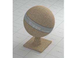 Light brown carpet vray material