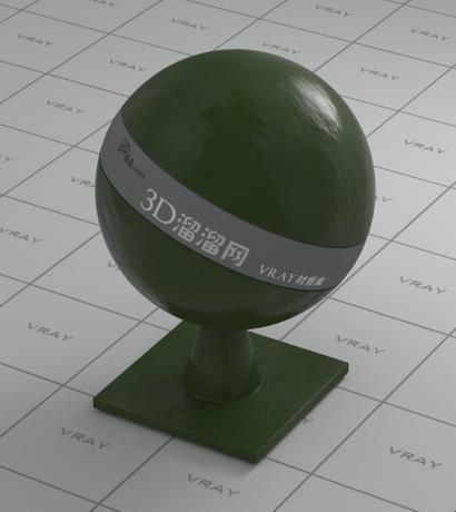 Green pepper material rendering
