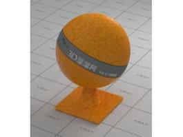 Shiny Orange vray material