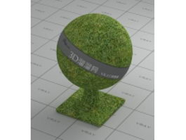Realistic grass vray material