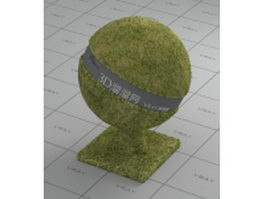 Green grass vray material