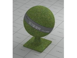 Grass land vray material