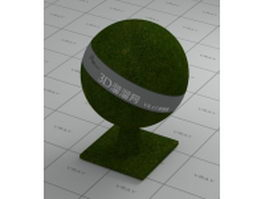 Artificial grass vray material