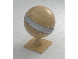 Golden emperador marble vray material