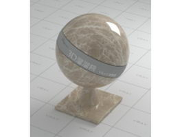 Polished light emperador marble vray material