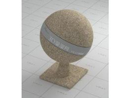 Sand grain vray material
