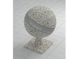Rubble stone vray material