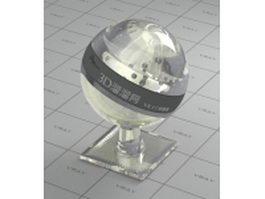Polycrystalline diamond vray material