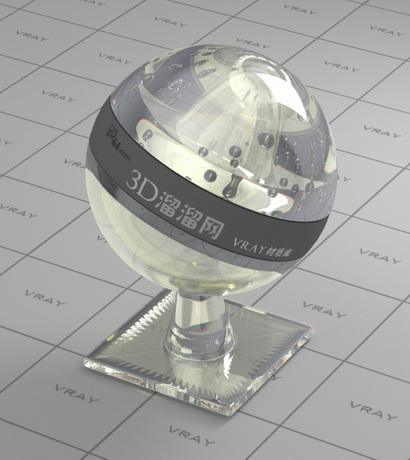 Polycrystalline diamond material rendering