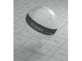 Bubble plastic vray material