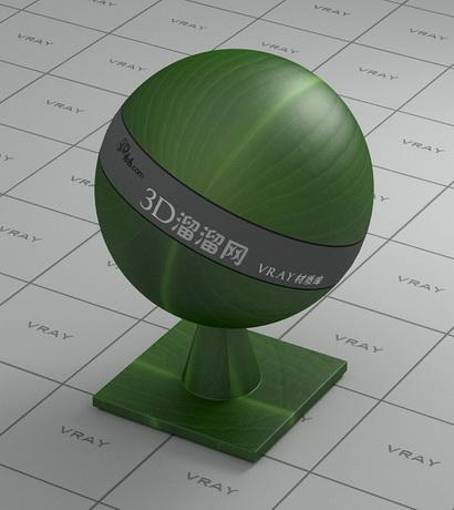 Green broad leaf material rendering