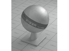 Smooth grey iron vray material