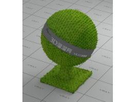 Green snakeskin vray material