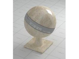 Bursa beige marble vray material