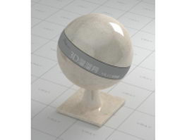 Bianco Teseo marble vray material