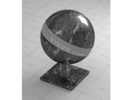Galaxy black marble vray material