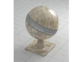 Emperador light marble vray material