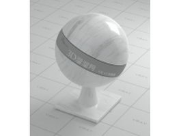 Spary white marble vray material