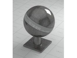 Iran portoro marble vray material