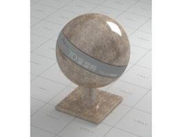 Light Emperador marble vray material